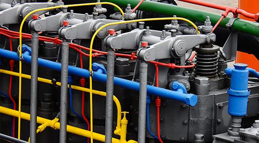 Reparatur von Schiffs- und Industriemotoren bei Portal und Wotte